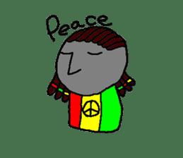Mr.Moai sticker #418808