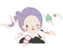 Adorable Lilac sticker #421369