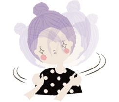 Adorable Lilac sticker #421397