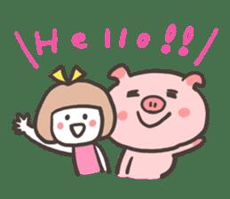 Uniko & Boo sticker #421730
