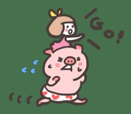 Uniko & Boo sticker #421738