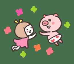 Uniko & Boo sticker #421739
