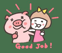 Uniko & Boo sticker #421743