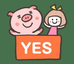 Uniko & Boo sticker #421744