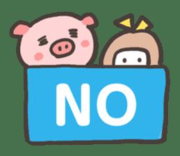 Uniko & Boo sticker #421745