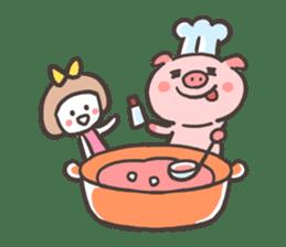 Uniko & Boo sticker #421750