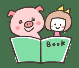 Uniko & Boo sticker #421763
