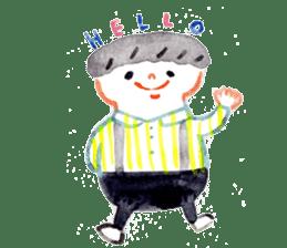 Taro & his friends sticker #421772