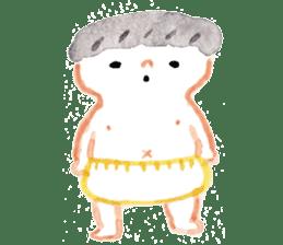 Taro & his friends sticker #421777