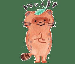 Taro & his friends sticker #421806