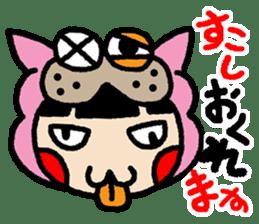 okinawa-language cat manga sticker #421898