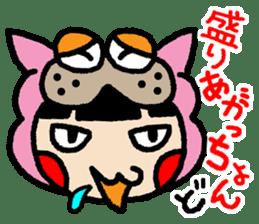 okinawa-language cat manga sticker #421903