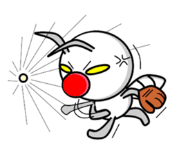 Termite Red Nose sticker #423383