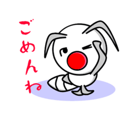Termite Red Nose sticker #423386