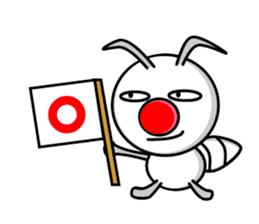 Termite Red Nose sticker #423389