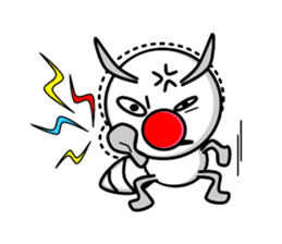 Termite Red Nose sticker #423401