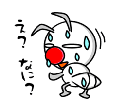 Termite Red Nose sticker #423402