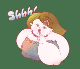 Big girls sticker #423730