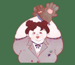 Big girls sticker #423732