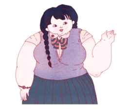 Big girls sticker #423737