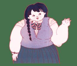 Big girls sticker #423737