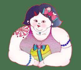 Big girls sticker #423743