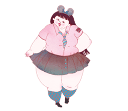 Big girls sticker #423744