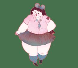 Big girls sticker #423744