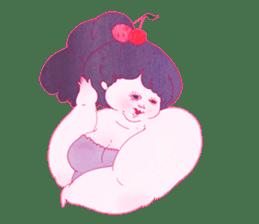 Big girls sticker #423745