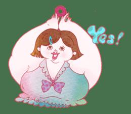 Big girls sticker #423759