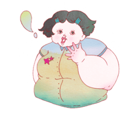 Big girls sticker #423763