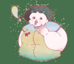 Big girls sticker #423763