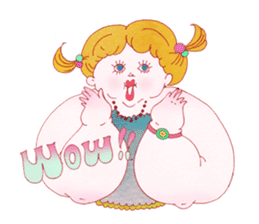 Big girls sticker #423768