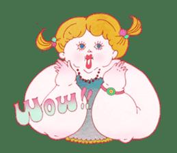 Big girls sticker #423768