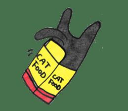 Chocolee of the kitten sticker #424708