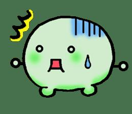 Kaomojimochi sticker #424787