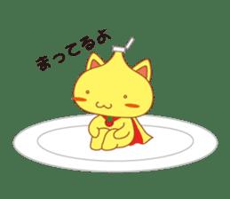 omelet cat sticker #424939