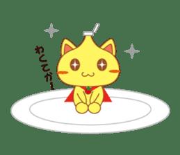 omelet cat sticker #424943