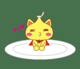omelet cat sticker #424944
