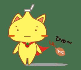 omelet cat sticker #424959