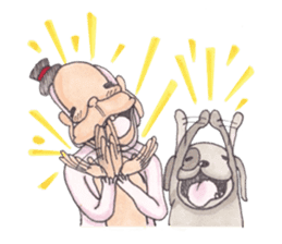 Luther and Nui sticker #425244