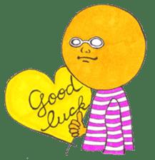 orangeman sticker #426011