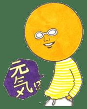 orangeman sticker #426014