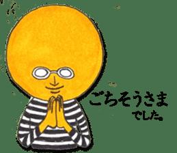 orangeman sticker #426016