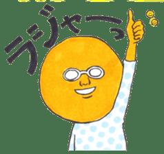 orangeman sticker #426020