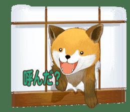 dog and ice cream sticker #426773