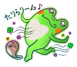 Is a frog sticker #427609