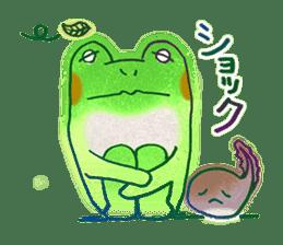Is a frog sticker #427610