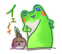 Is a frog sticker #427613