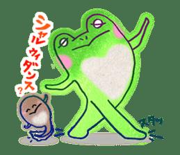 Is a frog sticker #427614